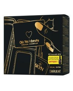 Skyn Gift Box 40 Condoms with Free Lubricant