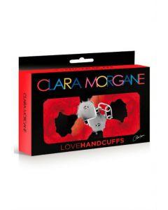 Menottes Love Handcuffs Fourrure Rouge