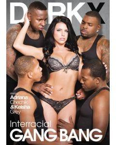 Interracial Gang Bang - Dark X