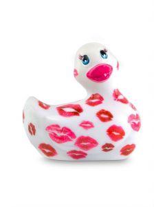 Canard Vibrant My Duckie Romance Blanc et Rouge