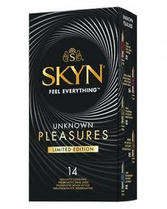 Preservatif Skyn Unknown Pleasure - Edition Limitee
