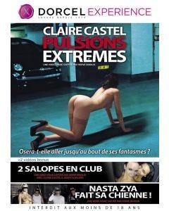 Claire Castel Pulsions extrêmes - DVD Dorcel