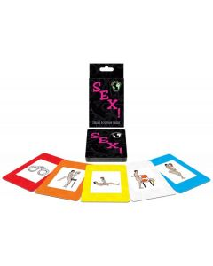 Jeu érotique Sex International Card Game