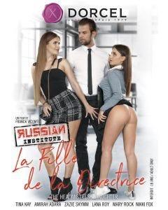 Russian institute 26 - la fille de la directrice -  DVD Dorcel