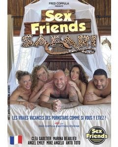 Sex Friends Safari - DVD Fred Coppula