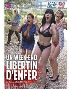 Un week-end libertin d'enfer - DVD Dorcel