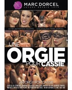 Une orgie pour Cassie - DVD Marc Dorcel