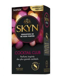 Préservatifs Manix Skyn  Cocktail Club x9