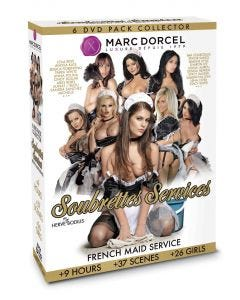 Coffret 6 DVD Collector Soubrettes Services - DVD Marc Dorcel