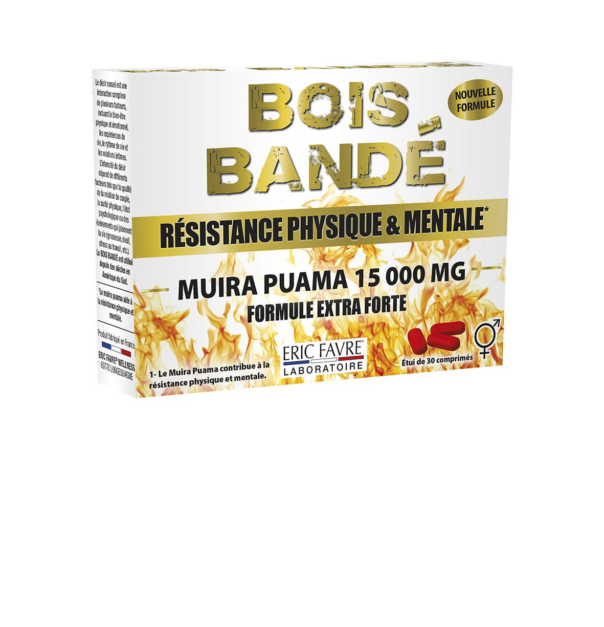 Bois Bandé 30 Comprimés # Bois Bandé Muira Puama