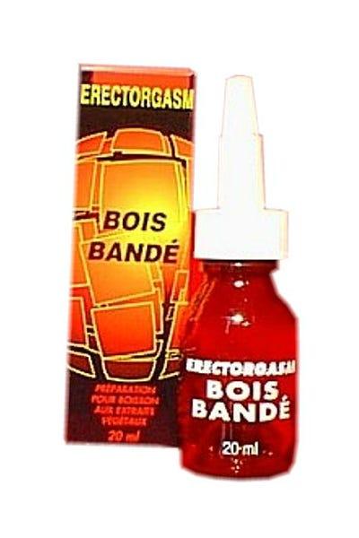 Erectorgasm Bois Bandé Flacon 20ml Stimulant # Bois Bandé Avis Medical