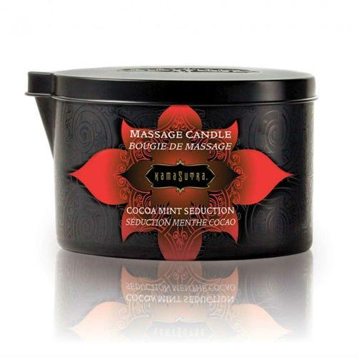 Bougie de massage Kamasutra menthe cacao