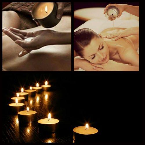 Massage entre amoureux - Bougie de massage pour moment sensuel