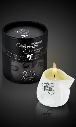 Bougie de massage parfum cacao