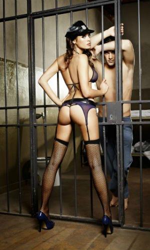 Déguisement femme policière sexy
