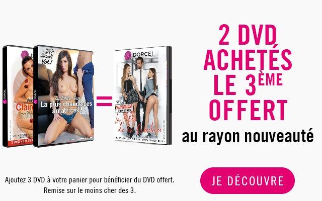 Offre DVD Nouveautés Dorcel