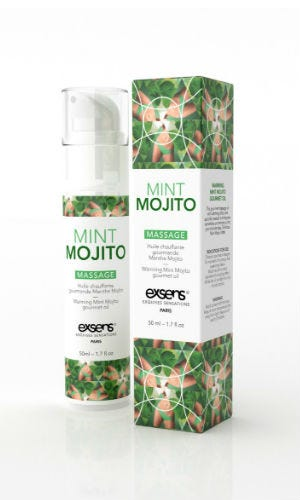 Huile de massage goût Mojito