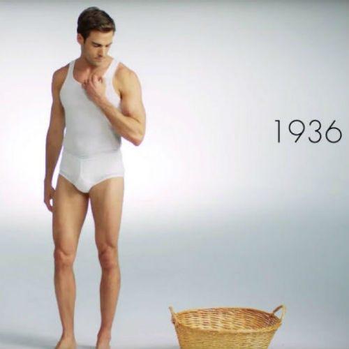 L'histoire de la lingerie masculine